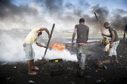 roman, Ghana, environnement, travail des enfants