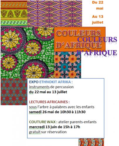 heure du conte, Afrique, atelier créatif