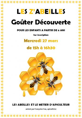 abeille, atelier découverte