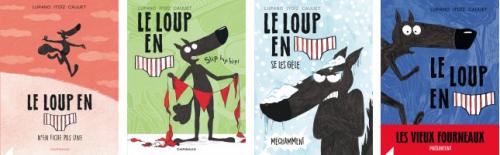album jeunesse, loup, atelier créatif, bande dessinée