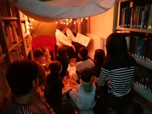 nuit de la lecture, lecture à voix haute