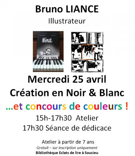 rencontre d'auteur, illustration, atelier créatif